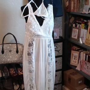 NWT Avidlove Super Sexy White Night Dress XXL